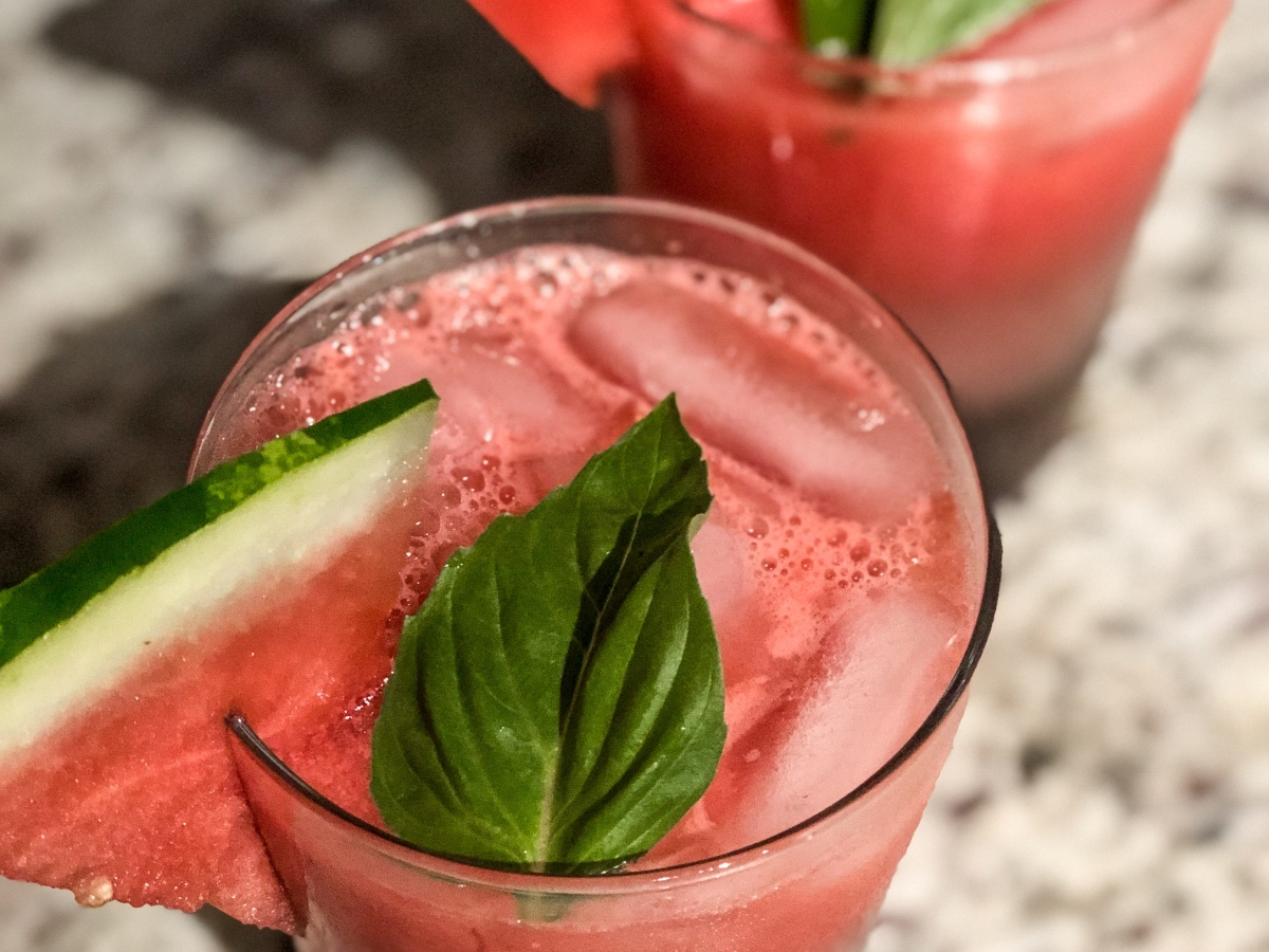 Watermelon Basil Margs